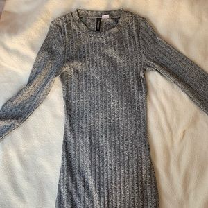 H&M Gray Knit Dress